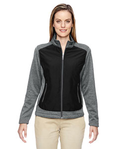 Ash City - North End Ladies' Victory Hybrid Performance Fleece Jacket