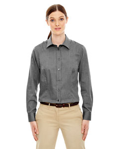 Ash City - North End Ladies' Yarn-Dyed Wrinkle-Resistant Dobby Shirt