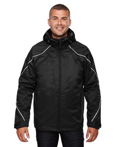 Ash City - North End Men's Angle 3-in-1 Jacket with Bonded Fleece Liner