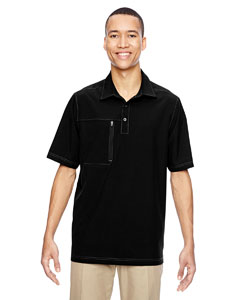 Ash City - North End Men's Excursion Crosscheck Performance Woven Polo