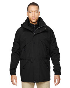 Ash City - North End Men's 3-in-1 Parka with Dobby Trim