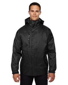 Ash City - North End Men's Performance 3-in-1 Seam-Sealed Hooded Jacket