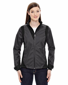 Ash City - North End Sport Blue Ladies' Commute Three-Layer Light Bonded Two-Tone Soft Shell Jacket