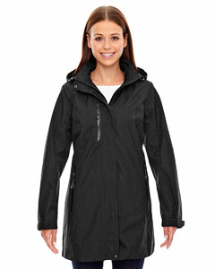 Ash City - North End Sport Blue Ladies' Metropolitan Lightweight City Length Jacket