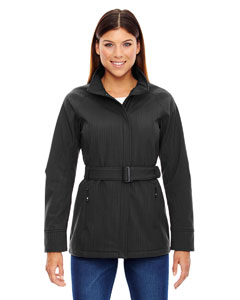 Ash City - North End Sport Blue Ladies' Skyscape Three-Layer Textured Two-Tone Soft Shell Jacket