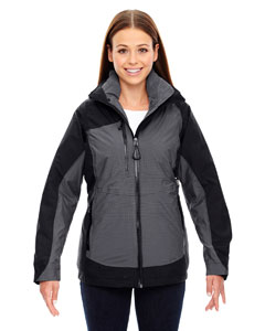 Ash City - North End Sport Red Ladies' Alta 3-in-1 Seam-Sealed Jacket with Insulated Liner