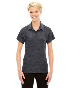 Ash City - North End Sport Red Ladies' Barcode Performance Stretch Polo