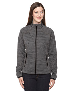 Ash City - North End Sport Red Ladies' Flux Mlange Bonded Fleece Jacket