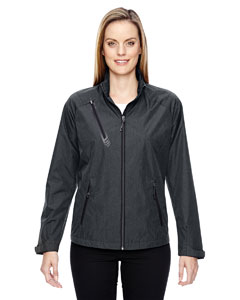 Ash City - North End Sport Red Ladies' Frequency Lightweight Mlange Jacket