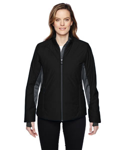 Ash City - North End Sport Red Ladies' Immerge Insulated Hybrid Jacket with Heat Reflect Technology