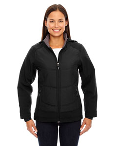 Ash City - North End Sport Red Ladies' Neo Insulated Hybrid Soft Shell Jacket