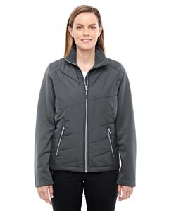 Ash City - North End Sport Red Ladies' Quantum Interactive Hybrid Insulated Jacket