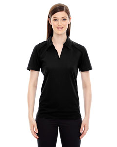 Ash City - North End Sport Red Ladies' Recycled Polyester Performance Pique Polo