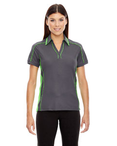 Ash City - North End Sport Red Ladies' Sonic Performance Polyester Pique Polo