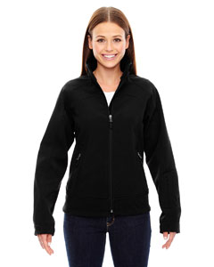Ash City - North End Sport Red Ladies' Three-Layer Light Bonded Soft Shell Jacket