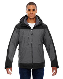 Ash City - North End Sport Red Men's Alta 3-in-1 Seam-Sealed Jacket with Insulated Liner