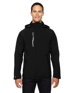Ash City - North End Sport Red Men's Axis Soft Shell Jacket with Print Graphic Accents