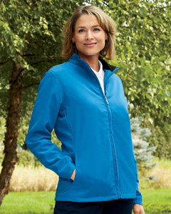 Ashworth Ladies' Full-Zip Lined Wind Jacket