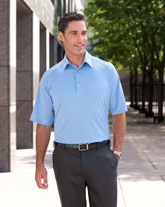 Ashworth Men's Performance Wicking Piqu Polo