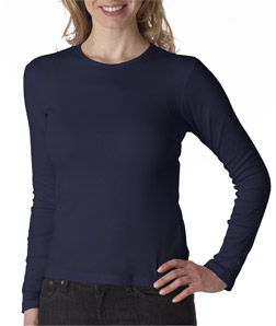 Bella Ladies' Long-Sleeve Crewneck T-Shirt