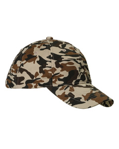Big Accessories Unstructured Camo Hat