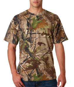 Code V Adult REALTREE Camouflage T-Shirt