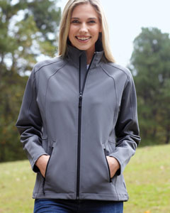 Devon & Jones Ladies' Bonded Tech-Shell Duplex Jacket