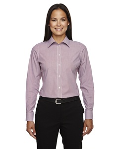 Devon & Jones Ladies' Crown Collection Banker Stripe