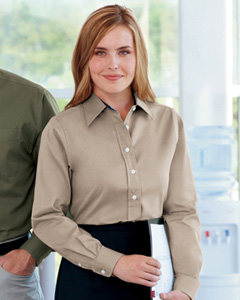 Devon & Jones Ladies' Pima Advantage Twill