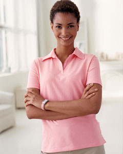 Devon & Jones Ladies' Stretch Jersey Polo