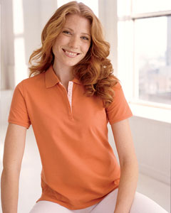 Devon & Jones Ladies' Tanguis Cotton Piqu Polo