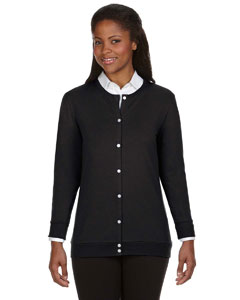 Devon & Jones Perfect Fit Ladies' Ribbon Cardigan