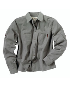 Dri Duck Ladies' Long-Sleeve Mortar Workshirt