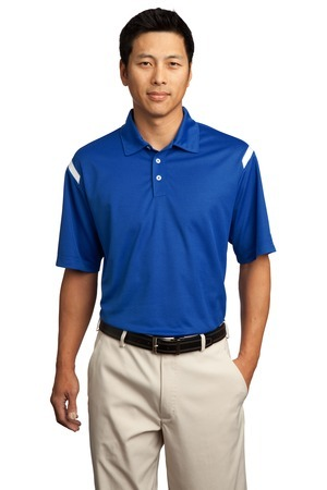 Dri-FIT Shoulder Stripe Polo.