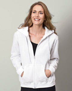 Gildan Ladies' 7.75 oz. Heavy BlendT 50/50 Full-Zip Hood
