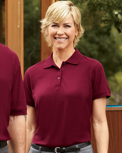 Harriton Ladies' 5 oz. Blend-Tek Polo