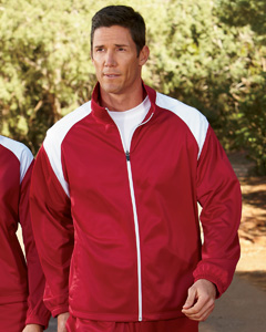 Harriton Men's Tricot Track Jacket