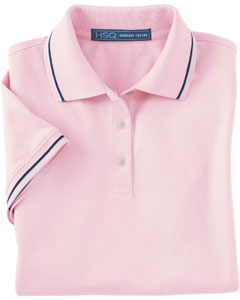 Harvard Square Ladies' Pima Reserve Tipped Polo