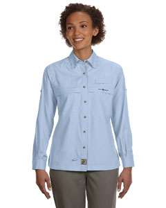 Hook & Tackle Ladies' Peninsula Long-Sleeve Performance Fishing Shirt