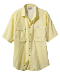 Hook & Tackle Men's Gulf Stream Short-Sleeve Fishing Shirt