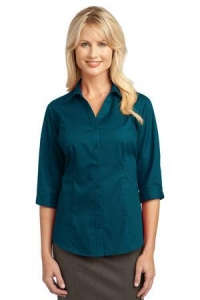 IMPROVED Port Authority® Ladies 3/4-Sleeve Blouse