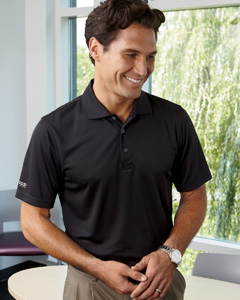 Izod Men's Dobby Performance Polo