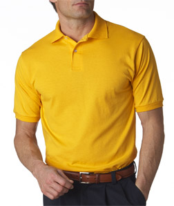 Jerzees Adult Jersey Polo with SpotShield