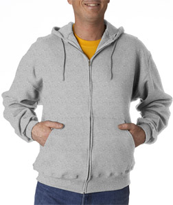 Jerzees Adult SUPER SWEATS Full-Zip Hooded Fleece