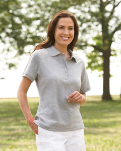 Jerzees Ladies' 5.6 oz., 50/50 Jersey Polo with SpotShieldT