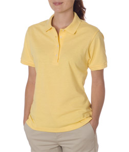 Jerzees Ladies Ring-Spun Cotton Pique Polo