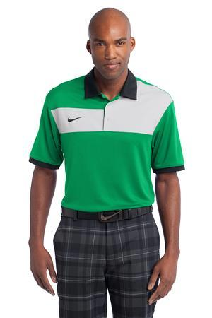 NEW Nike Golf Dri-FIT Sport Colorblock Polo