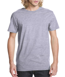 Next Level Mens Fitted Short-Sleeve Crew