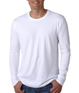 Next Level Men's Long-Sleeve Crew