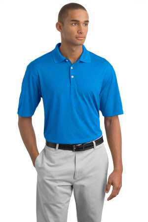 NIKE GOLF - Dri-FIT Cross-Over Texture Sport Shirt. .